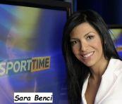 Foto di Sara Benci giornalista sportiva SKY