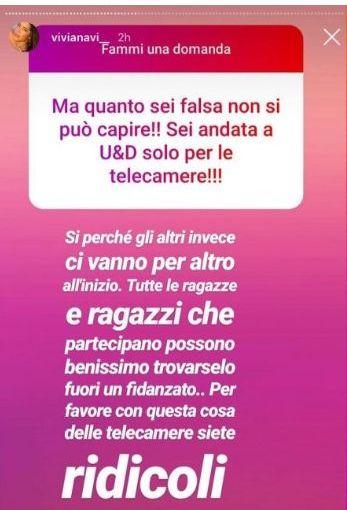 Viviana Vizzini eliminata da Lorenzo Riccardi smaschera il gioco di Uomini e donne
