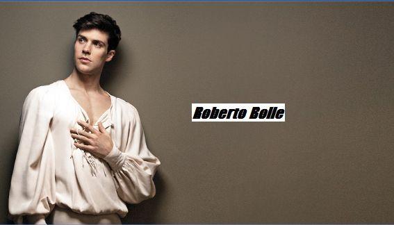 Roberto Bolle definito anche il ballerino dei due mondi pronto ad esprimere il suo talento artistico a Napoli e Roma e Milano