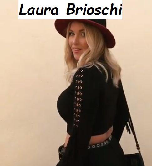Laura Brioschi bellissima vestita da streghetta