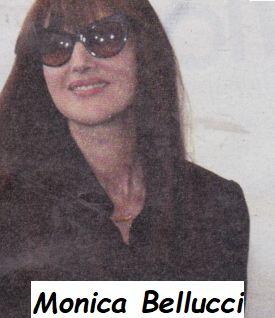 Monica Bellucci attrice