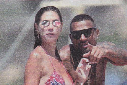 Kevin Prince Boateng con Melissa Satta amore ritrovato