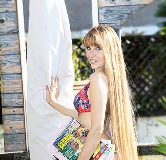 Georgia Viero modella argentina e presentatrice televisiva