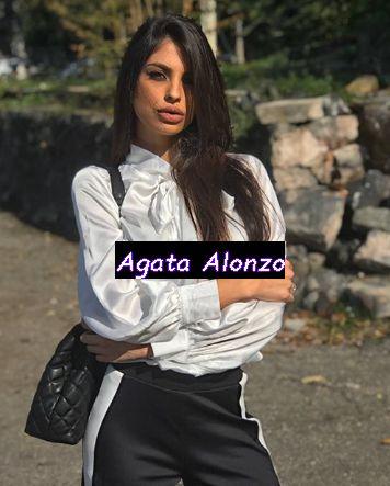 Conduttrice Agata Alonzo ex Miss Italia a Sportitalia