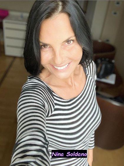 Nina Soldano attrice di un posto al Sole originaria di Pisa , recita al cinema e in televisione