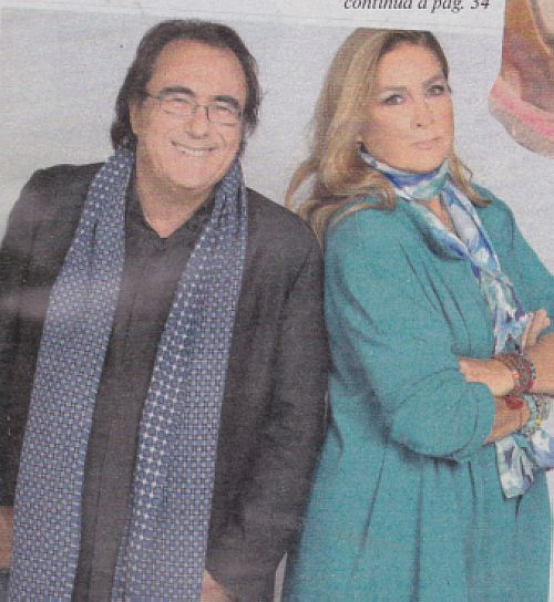 Albano Carrisi e Romina Power in foto da giovani