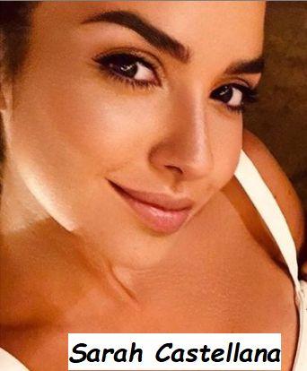 Sarah Castellana bellissima giornalista sportiva sposata con il calciatore dell'Udienese Thomas Heurtaux
