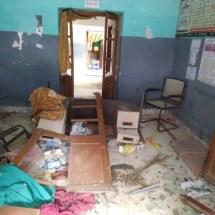 बच्ची की मौत के बाद हायाघाट में बवाल, प्राथमिक स्वास्थ्य केंद्र एवं चिकित्सक आवास में तोड़फोड़। न्यूज़ ऑफ मिथिला