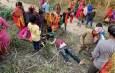 ट्रेन और बैलगाड़ी में टक्कर, हादसे में 5 लोगों की मौत 2 घायल।