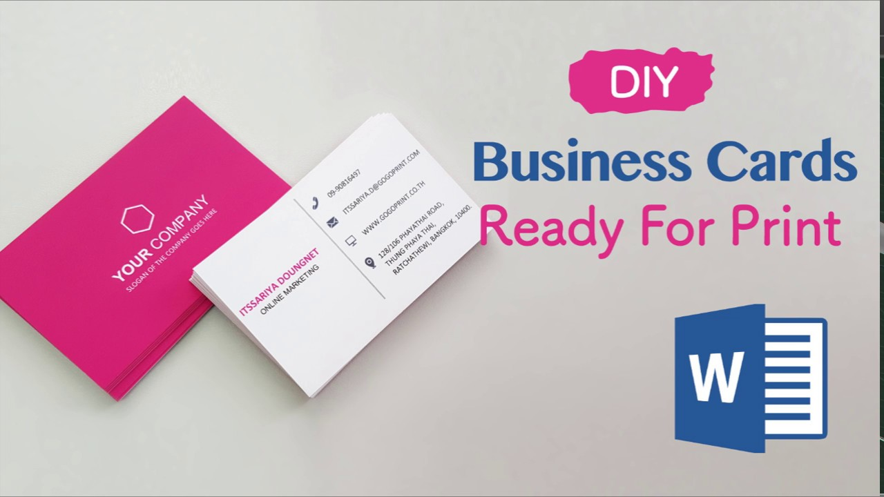 microsoft business card maker free download