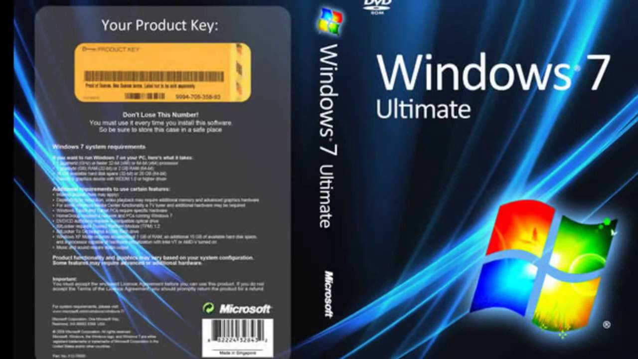 Windows 7 Ultimate 64 Bit ISO Download From Microsoft - New Software Download
