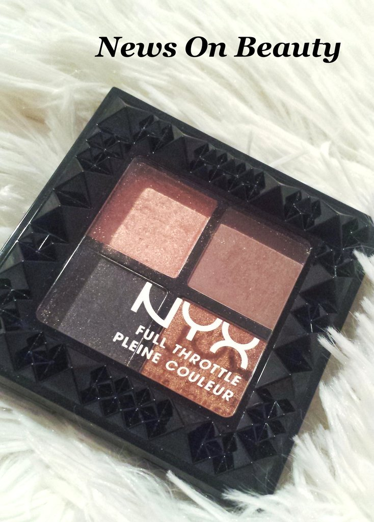 Paleta Farduri NYX Full Throttle