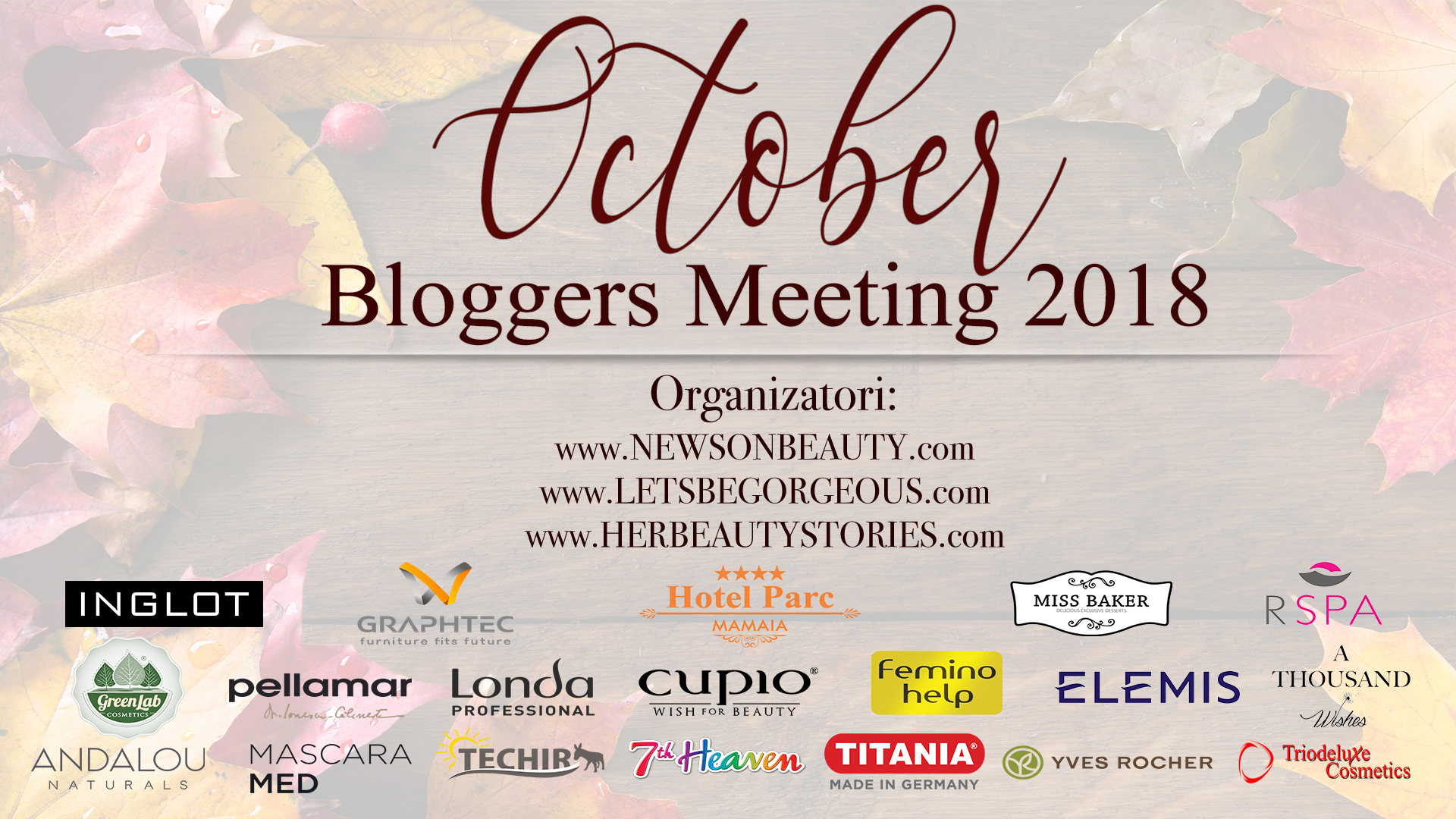 October Bloggers Meeting