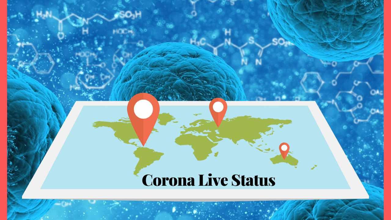 कोरोना लाइव जानकारी – Corona Live Status