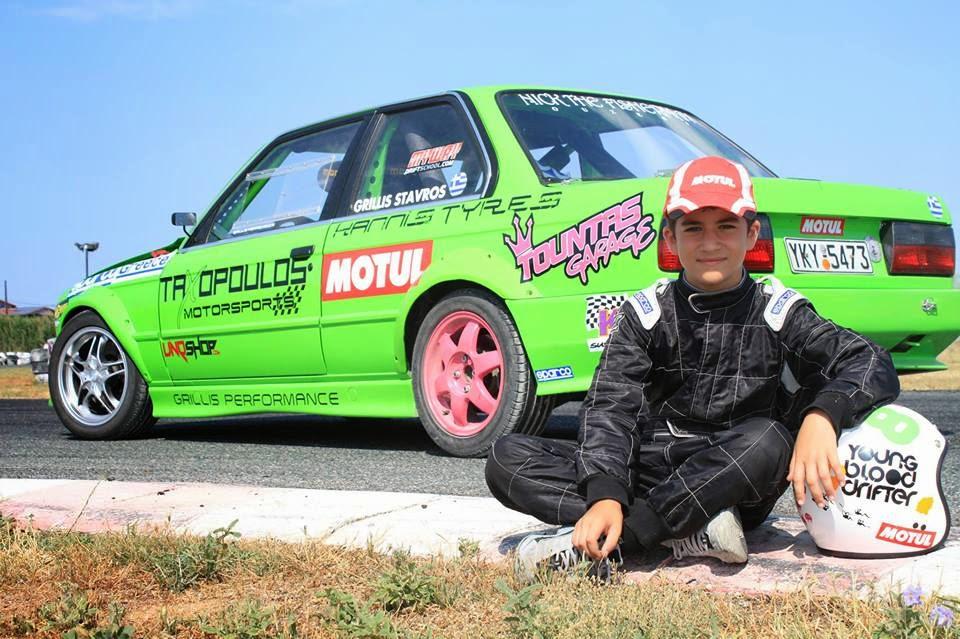 Έλληνας είναι ο πιο μικρός σε ηλικία οδηγός ράλι