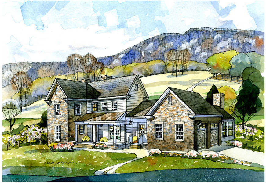 New South Classics Valley View Farmhouse