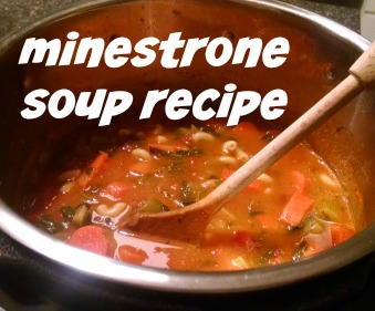 Pressure Cooker Soup Recipe - Minestrone