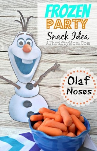 Olaf carrot noses
