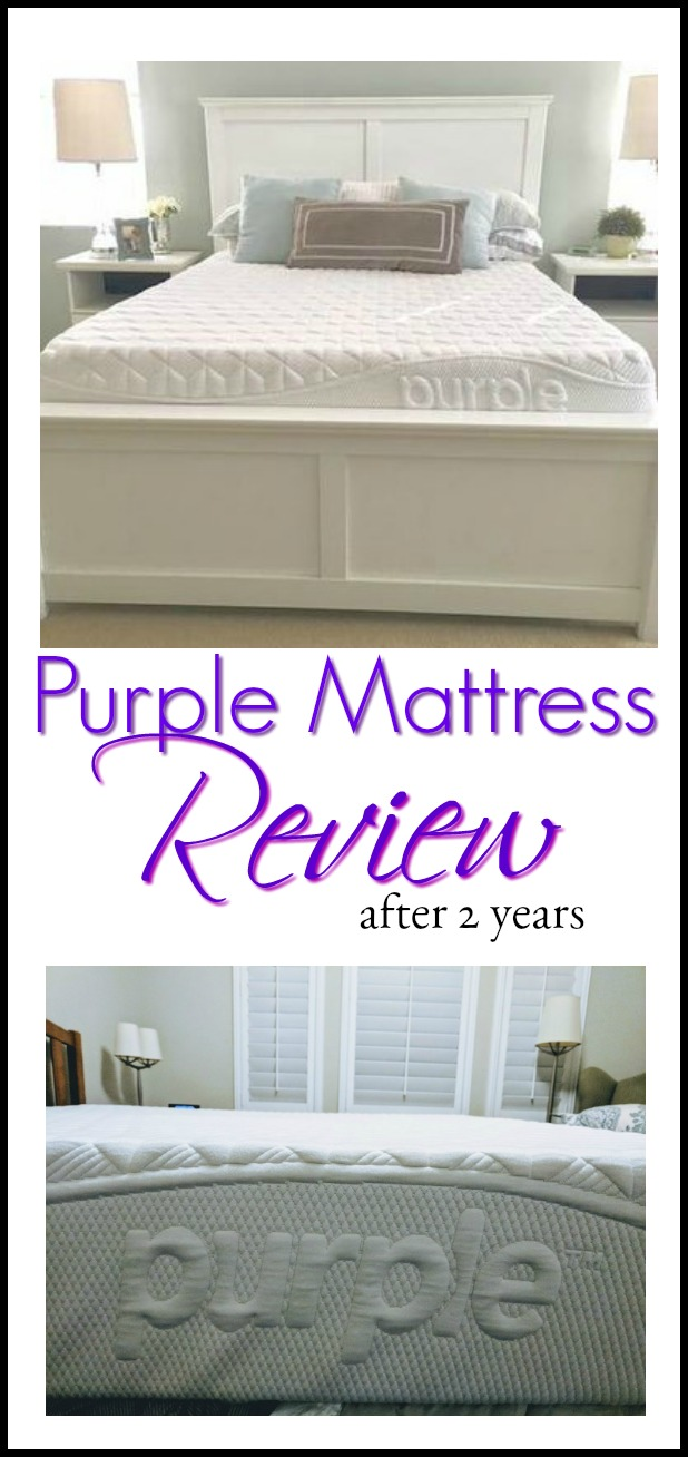 Purple mattress Review after 2 years
