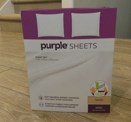 Purple brand sheets