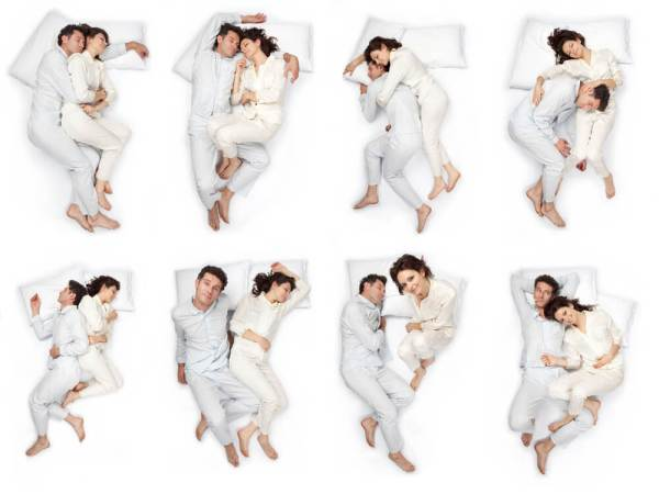 types of sleepers couples