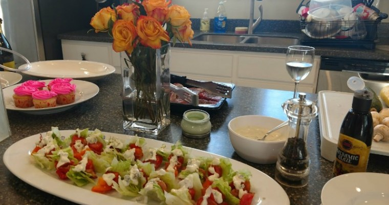 Award Winning Wedge Salad on a Stick with Pretzel Croutons Recipe