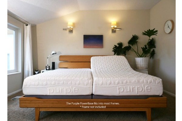 Purple Powerbase Adjustable Bed Review with Video