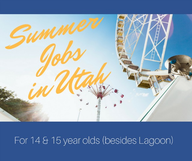 summer jobs in Utah for teens