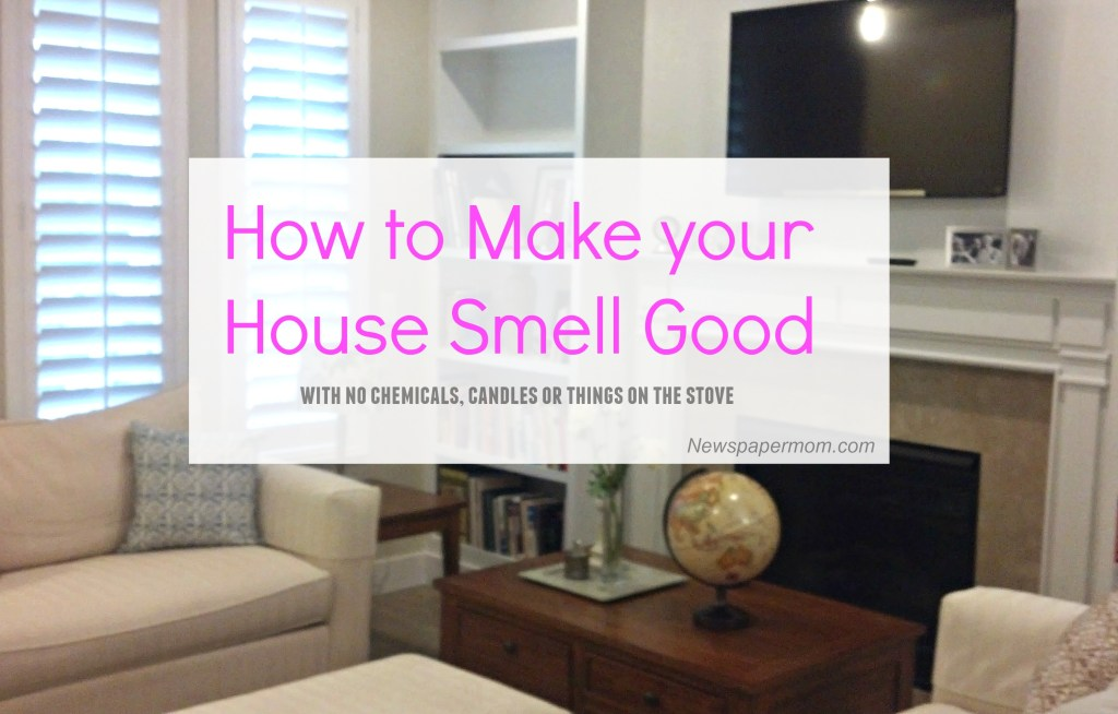 How to Make Your House Smell Good