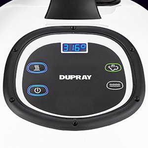 Dupray steam cleaner display