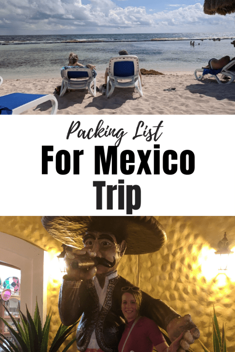 Mexico packing list for trip