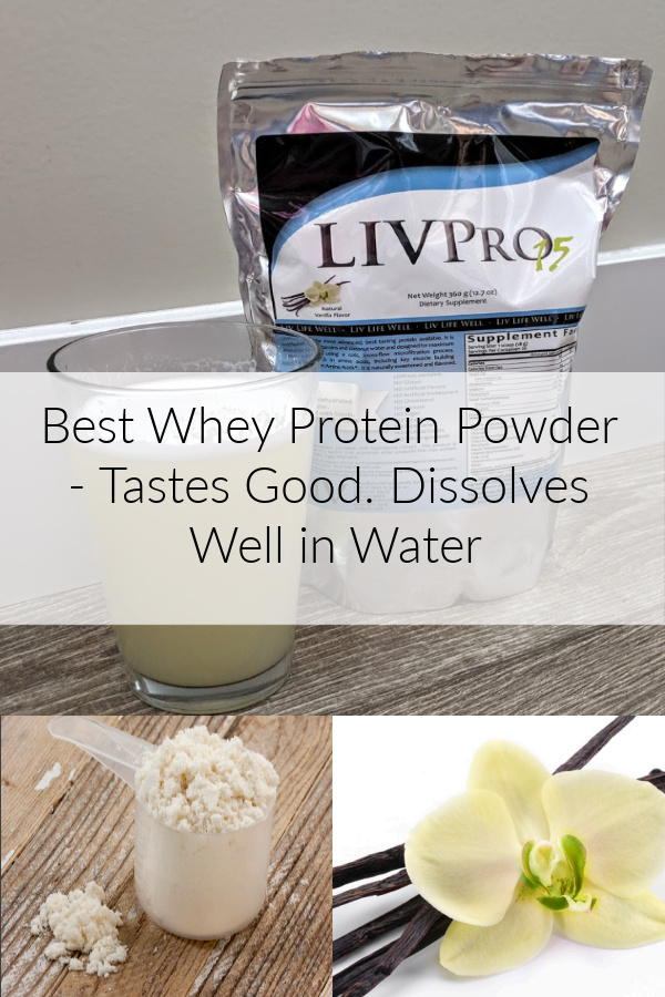 protein powder that dissolves well in water