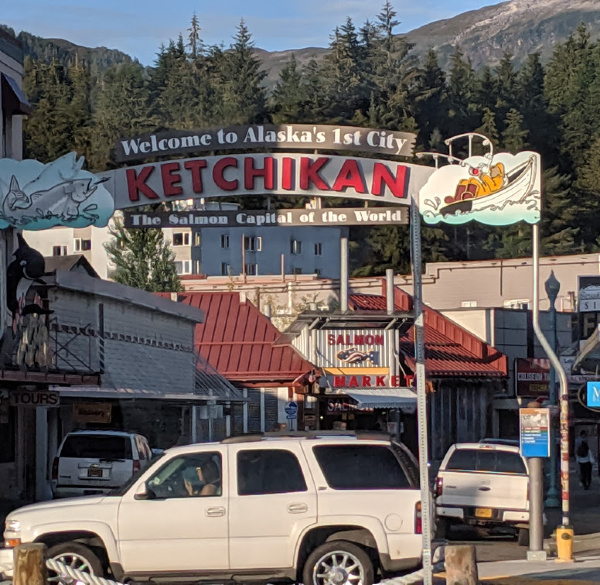 Ketchikan Alaska sign