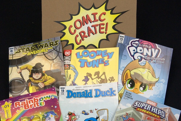 kids comic book subscription box