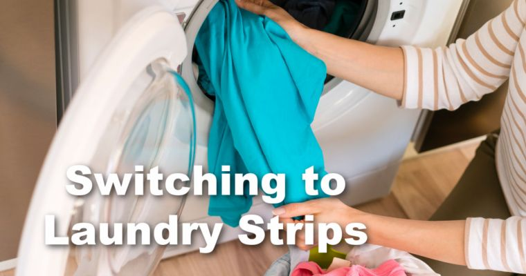 Cut Microplastics in your Laundry with Laundry Strips
