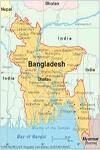 Bangladesh of Map