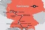 Map of German