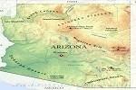 Map in Arizona