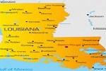 Louisiana of Map