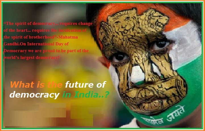 Image result for democracy in india