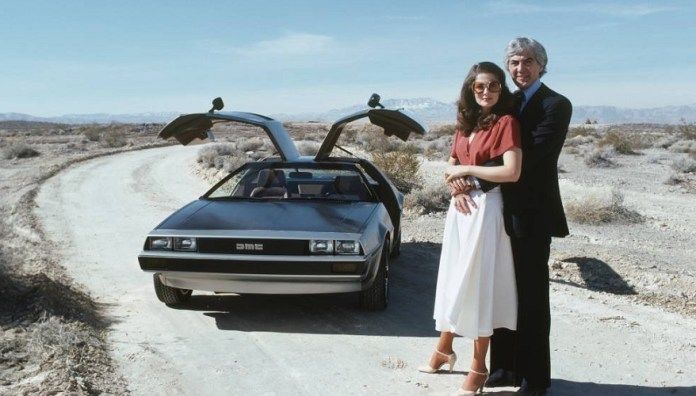 The eccentric founder of DeLorean.