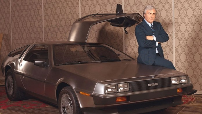 DeLorean, the creator of the brand.