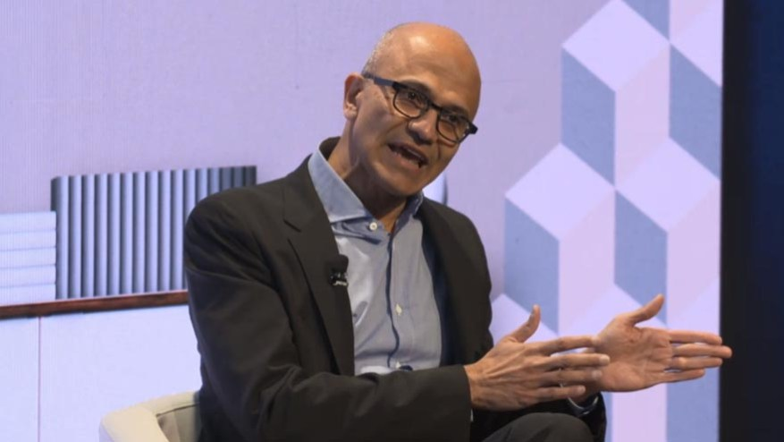 Satya Nadella, the CEO of Microsoft who knew how to reinvent the company.
