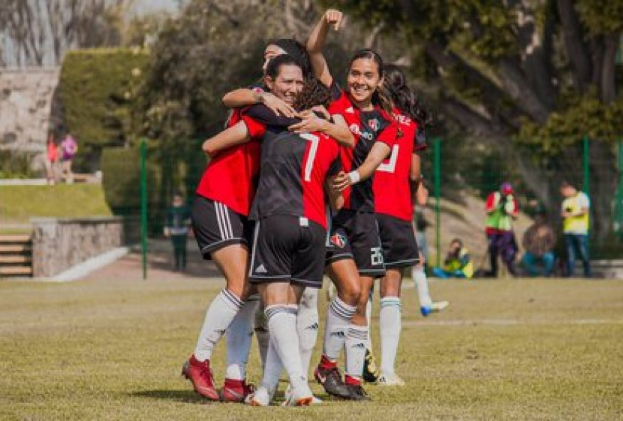 There are already five clubs in the women's branch that announce positives in their squads (Photo: Twitter / @AtlasFCFemenil)