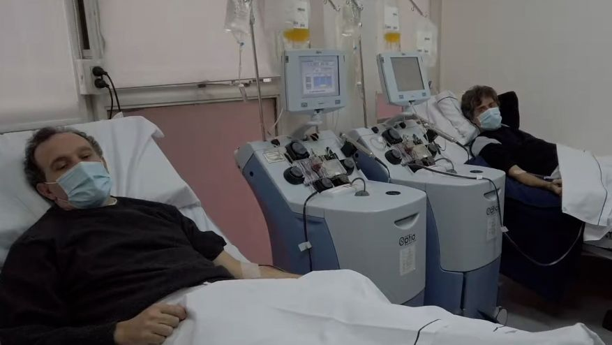 Coronavirus Doctors Drive Plasma Donation