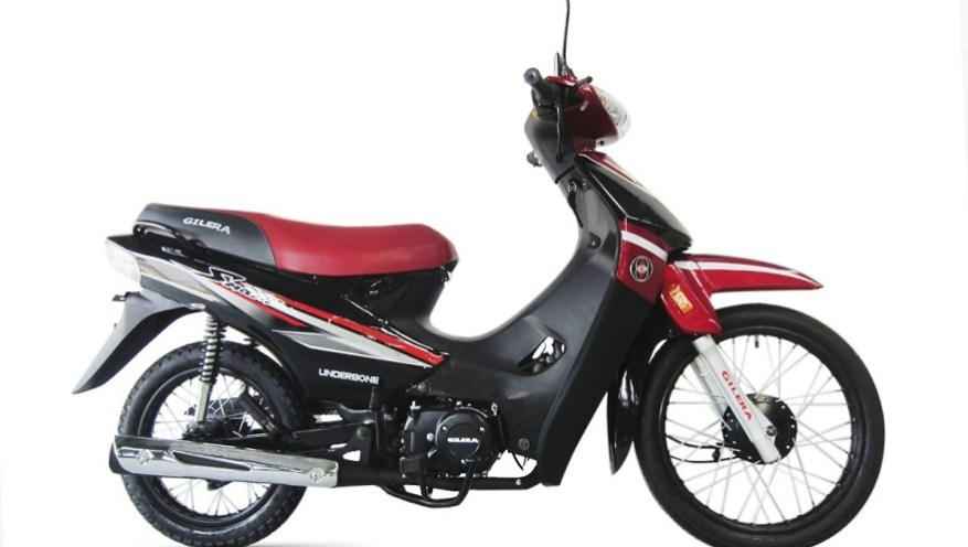 Gilera Smash 110, another of the cheapest motorcycles.