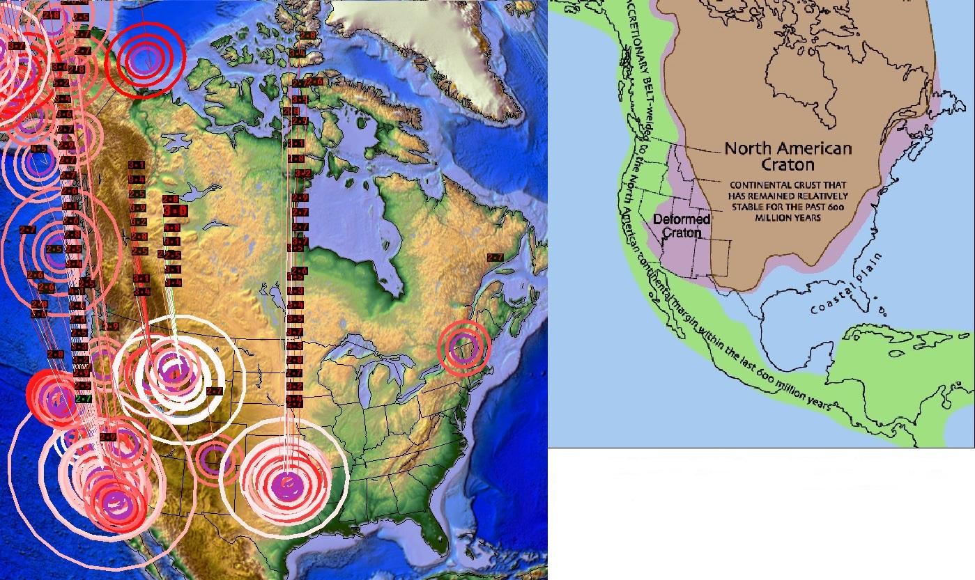 Red Alert Mega Earthquake Madrid Americas Risk New Madrid Fault Lines Quake Divide The Us