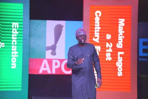 Lagos: Sanwo-Olu, Unveils Development Plan, Vows To Resolve Gridlock Within Nine Months