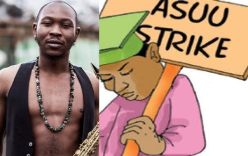 ASUU Strike: Fela Son, Seun Kuti Knocks Parents Attending Political Rallies