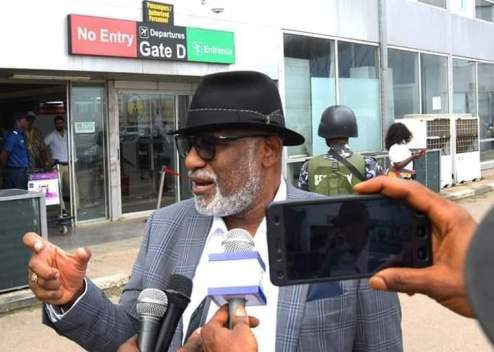 Akeredolu Returns From Thailand ,Debunks Report Of Encouraging Illegal Cannabis  Cultivation